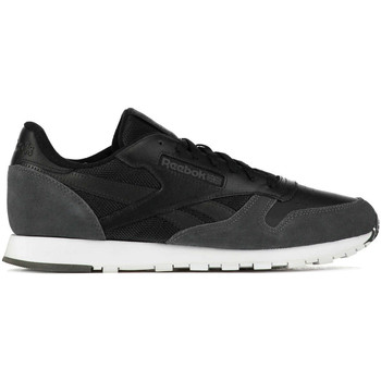 Chaussures Femme Baskets basses Reebok Sport Baskets  Cl Leather Mo Noir Gris Homme Noir