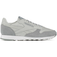 Chaussures Femme Baskets basses Reebok Sport Baskets  Cl Leather Mo Gris Clair Homme Gris