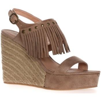 Chaussures Femme Espadrilles LPB Shoes CHAUSSURE À TALON SABINE BEIGE Beige