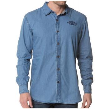 Chemise Deeluxe chemise eddy bleu