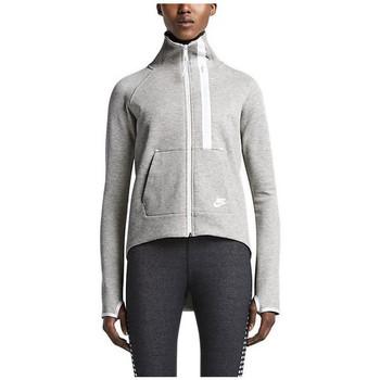 Vêtements Femme Sweats Nike Sweat  Tech Fleece Moto - 642688-050 Gris