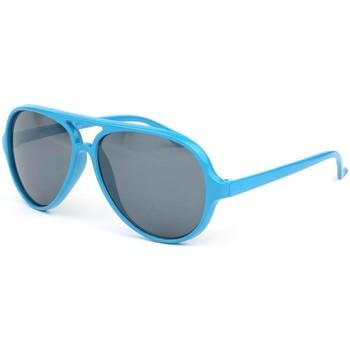 Montres & Bijoux Enfant Lunettes de soleil Eye Wear Lunette soleil enfant bleu pilote 6 a 12 ans Bleu