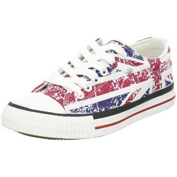 Chaussures Baskets basses British Knights Master LO Rouge