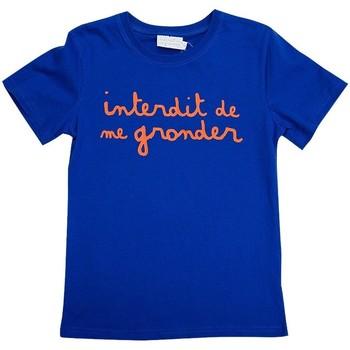 Vêtements Garçon T-shirts manches courtes Interdit De Me Gronder T-shirt manches courtes  L'INTERDIT Orange