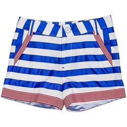 Vêtements Fille Shorts / Bermudas Interdit De Me Gronder Raya Bleu