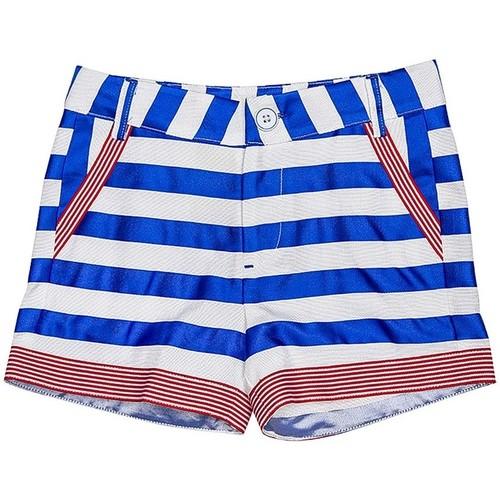 Vêtements Fille Shorts / Bermudas Interdit De Me Gronder Short RAYA Bleu