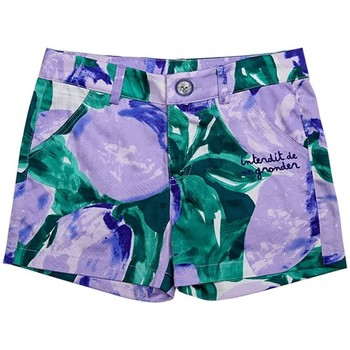 Vêtements Fille Shorts / Bermudas Interdit De Me Gronder Limy Multicolore