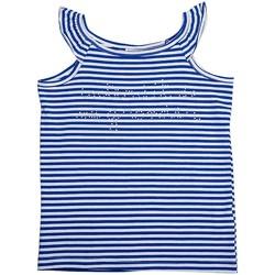 Vêtements Fille Tops / Blouses Interdit De Me Gronder Débarteur Free Bleu