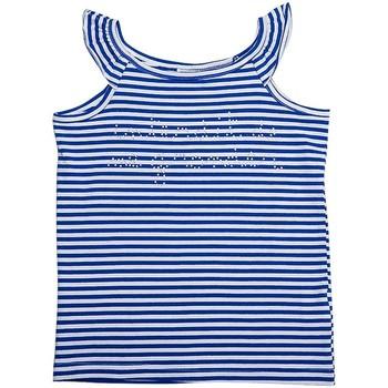 Vêtements Fille Tops / Blouses Interdit De Me Gronder Free Bleu