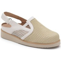 Chaussures Femme Sabots Calzamedi VERANO PALA ELASTICA BEIGE