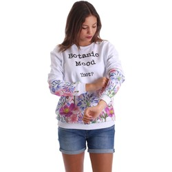 Vêtements Femme Sweats Y Not? 17PEY119 Sweatshirt Femmes Bianco Bianco