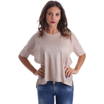 Vêtements Pulls Animagemella 17PEA076 T-shirt Femmes Or Or