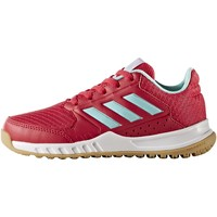 Chaussures Fille Baskets basses adidas Performance Chaussure FortaGym Blanc