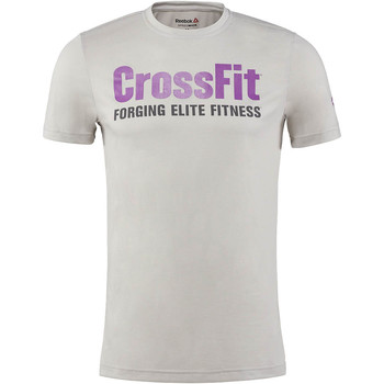 Vêtements Homme T-shirts manches courtes Reebok Sport T-shirt  CrossFit SpeedWick F.E.F T-shirt Graphic Blanc / Blanc