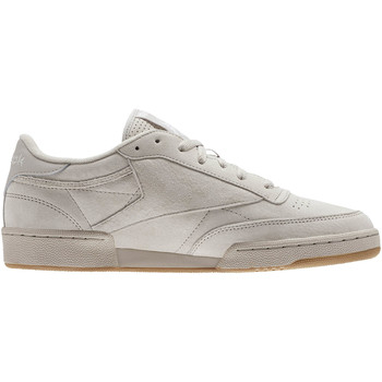 Chaussures Baskets basses Reebok Classic Club C 85 Seasonal Gum Noir / Blanc