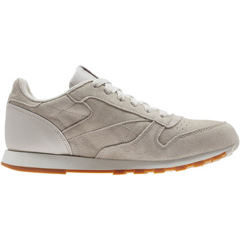 Chaussures Enfant Baskets basses Reebok Classic Classic Leather SG - Grade School Beige / Orange