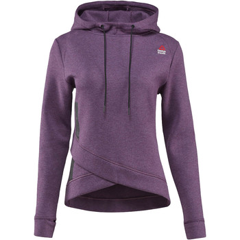 Vêtements Femme Polaires Reebok Sport Sweat à capuche  CrossFit Purple