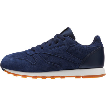 Chaussures Enfant Baskets basses Reebok Classic Classic Leather SG - Pre-School Bleu