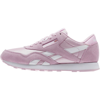 Chaussures Fille Baskets basses Reebok Classic Classic Nylon - Grade School Blanc