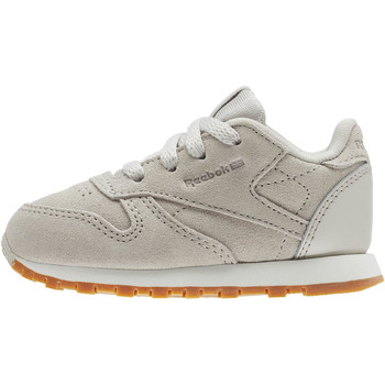Chaussures Enfant Baskets basses Reebok Classic Classic Leather EBK - Infant & Toddler Beige / Gris