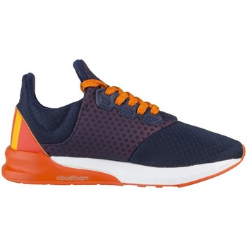 Chaussures Enfant Baskets basses adidas Originals Falcon Elite 5 XJ Orange,Bleu marine