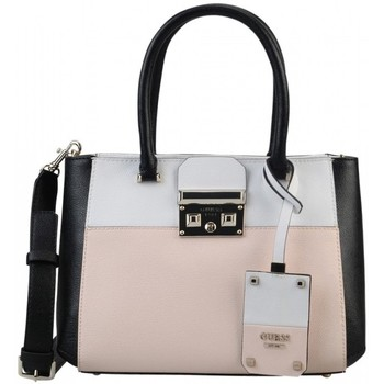 Sacs Femme Sacs porté main Guess Sac à Main Martine Cameo Multi Rose