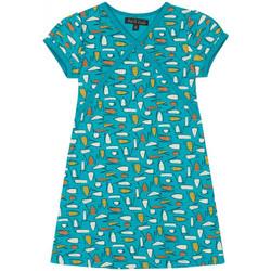 Vêtements Fille Robes courtes Petit Louie Robe Cup Riviera Bleu 01441 Bleu