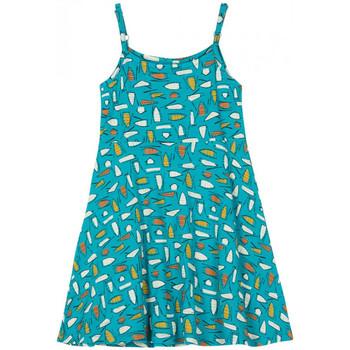 Vêtements Fille Robes courtes Petit Louie Peit Louie Robe Nora Riviera Bleu 01442 Bleu