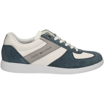 Chaussures Homme Baskets basses Tommy Hilfiger FM0FM00439 Sneakers Man Jeans Jeans