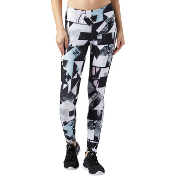 Vêtements Femme Leggings Reebok Sport Legging Lux - motif Photo Fold Blanc