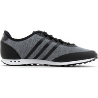 Chaussures Fille Baskets basses adidas Performance Cloudfoam Style Racer TM Core Black/Silver Metalic