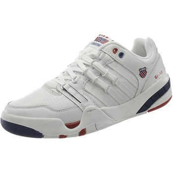 Chaussures Homme Baskets basses K-Swiss Kswiss SI18 Intl OG 50TH Blanc-Rouge-Bleu
