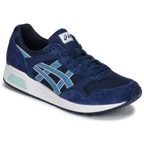 Chaussures Homme Baskets basses Asics SILVER HERITAGE MESH Bleu