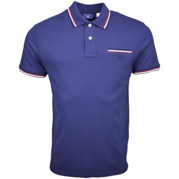 Vêtements Homme Polos manches courtes Gant Polo  Tipping bleu marine pour homme Bleu