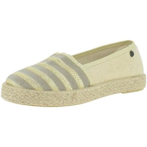 Chaussures Femme Espadrilles MTNG 69765 Doré