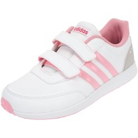 Chaussures Fille Baskets basses adidas Originals Vs switch 2 cmf c Blanc