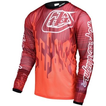 Vêtements T-shirts manches longues Troy Lee Designs MAILLOT SPRINT AIR CODE ORANGE Unicolor