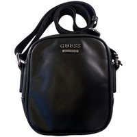 Sacs Homme Besaces Guess Sacoche New Boston Mini Noir Noir