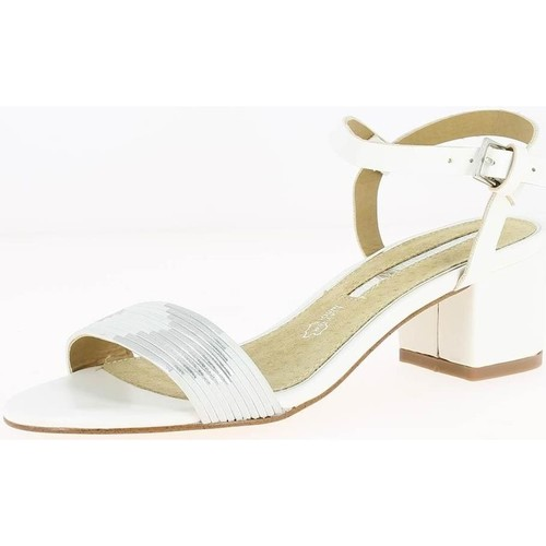 Maria Mare 66739 blanc - Chaussures Sandale Femme