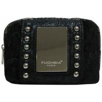 Sacs Femme Porte-monnaie Fuchsia La petite bourse monnaie femme F9318-2 Noir