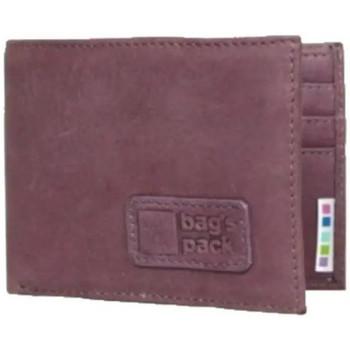 Sacs Femme Porte-monnaie A Découvrir ! Porte cartes cuir vintage Bag's Pack Violet