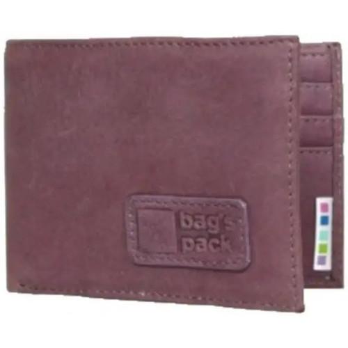 Sacs Femme Porte-monnaie Sélectionnée Par Nouvelty Porte cartes cuir vintage Bag's Pack Violet