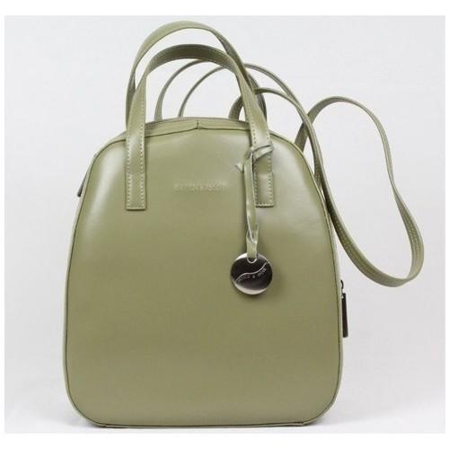 Sacs Femme Sacs à dos Arthur & Aston Sac à dos cuir vert Arthur et Aston 9848 Vert