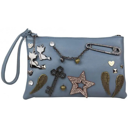 Sacs Femme Sacs Bandoulière Lollipops Petit sac bandoulière pochette déco bijoux  Zola Clutch 22632 Bleu
