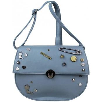 Sacs Femme Sacs Bandoulière Lollipops Sac bandoulière demi-rond déco bijoux  Zola Shoulder 22631 Bleu