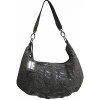 Sacs Femme Sacs porté épaule Patrick Blanc Sac en joli cuir avec impressions Taupe