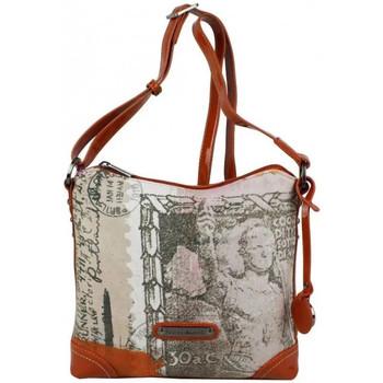 Sacs Femme Sacs porté épaule Patrick Blanc Sac bandoulière  imprimé 509036 Orange