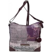 Sacs Femme Sacs porté épaule Patrick Blanc Sac bandoulière  imprimé 509036 Violet
