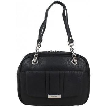 Sacs Femme Sacs porté épaule Fuchsia Sac porté épaule demi-rond  F9589-3 Noir