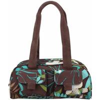 Sacs Femme Sacs porté épaule Roxy Petit sac baguette demi-rond imprimé fleurs  XRWBA371 Marron